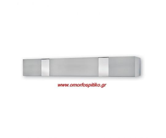 ΜΕΤΩΠΗ ΜΕΤΑΛΛΙΚΗ ΜΕ-410 INOX-ΧΡΩΜΙΟ